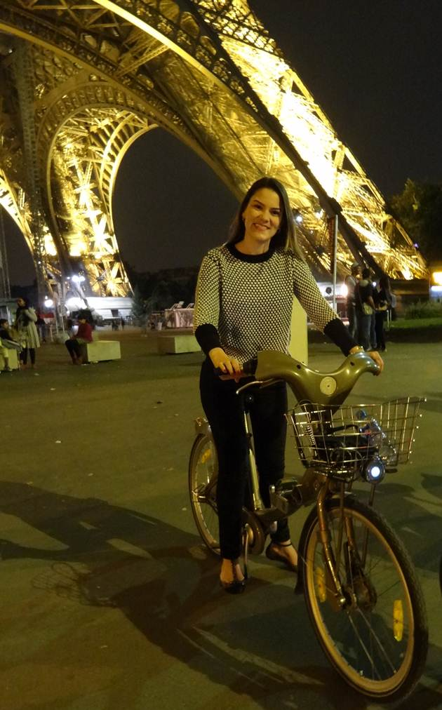 tour de bike em Paris