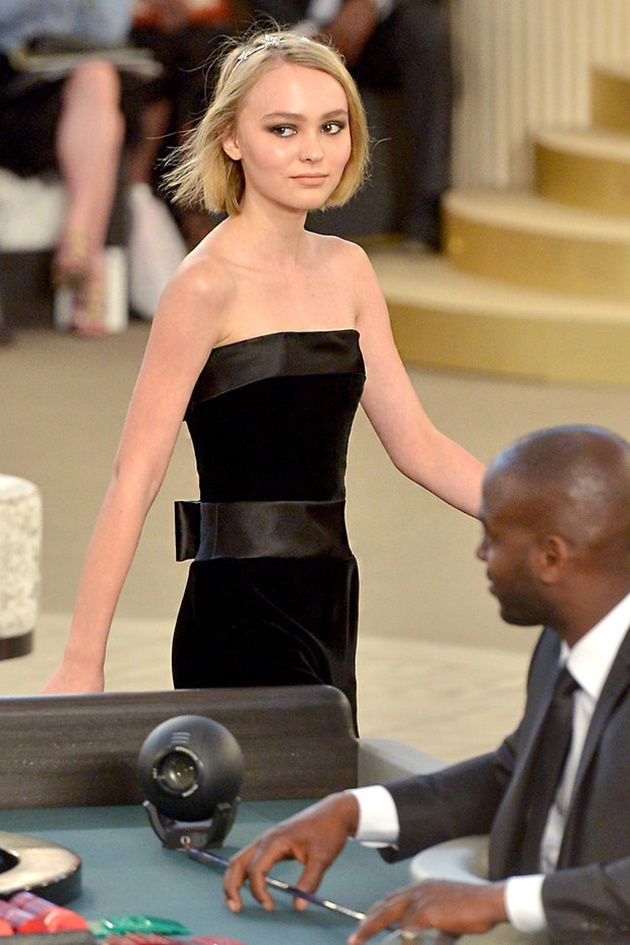 lily rose depp chanel