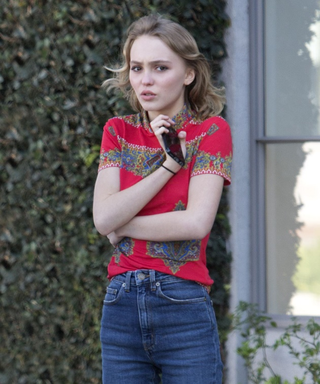 street style lily-rose depp