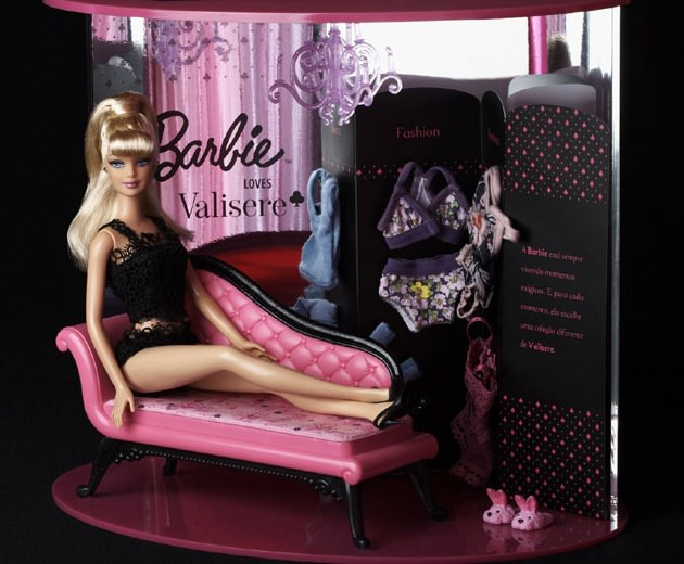 barbie valisere