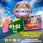 Festa do Leitão no Rolete 2015!