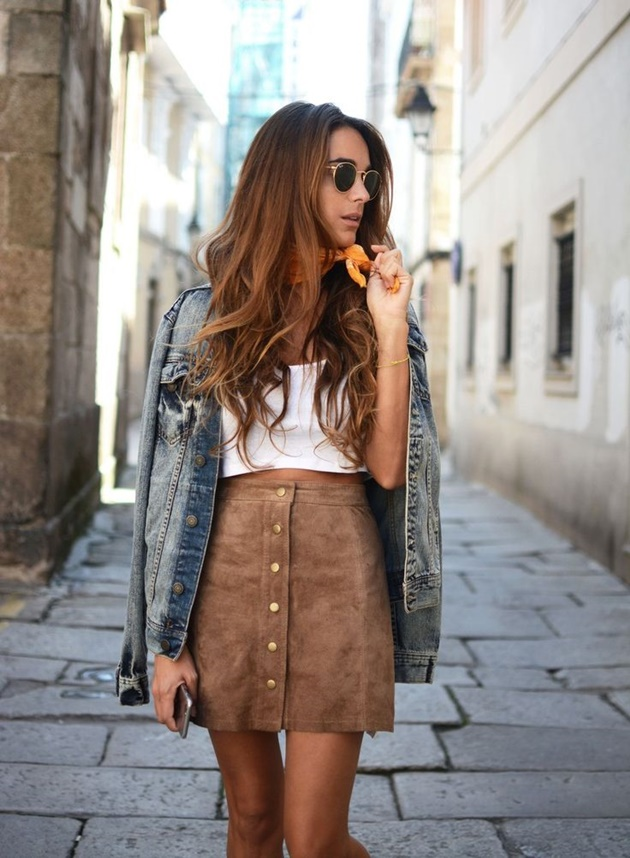 style suede