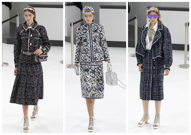 tweed chanel PFW